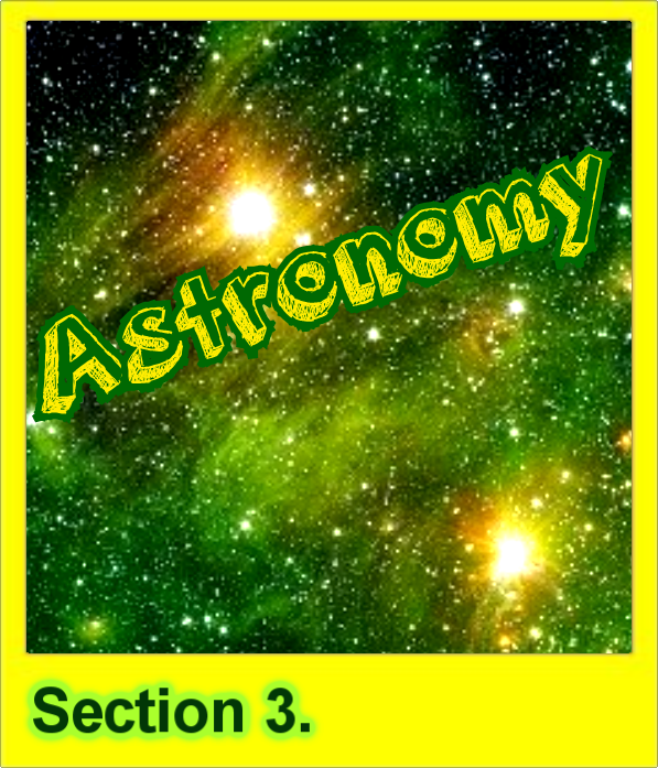 3 Astronomy Button