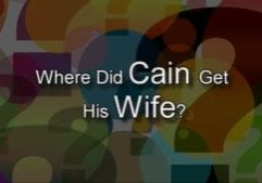Where did Cain get his wife profile Kids Find Truth